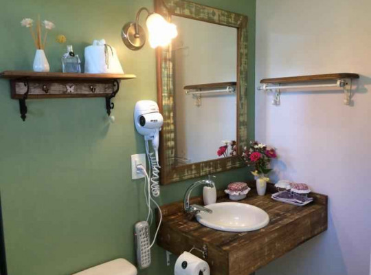 Banheiro - Charme - Urubici | Serra Catarinense