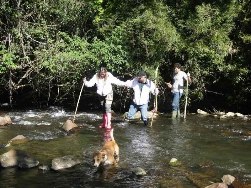 Trilhas na água - Urubici | Serra Catarinense